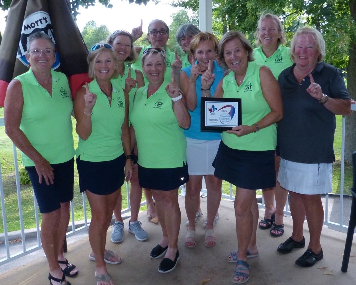 Interclub 2019 Senior Dames